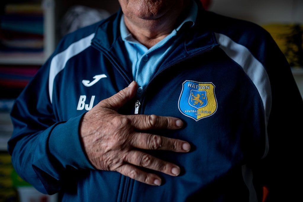 Image: 73883322, Blázi János és Blázi Erzsébet az FC Hatvan nyugdíjazott gondnokai, Place: Budapest, Hungary, Model Release: No or not aplicable, Property Release: Yes, Credit: smagpictures.com