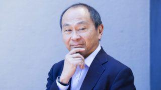 Portrait of Yoshihiro Francis Fukuyama - American political scientist, political economist, and author - 2019 - ©Leonardo Cendamo/Leemage