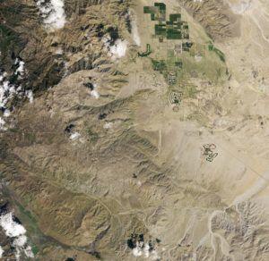 Az űrből is látni a sivatagi szupervirágzást 2