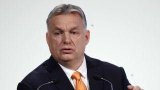 Budapest, 2019. március 23. Orbán Viktor miniszterelnök beszél a Mathias Corvinus Collegium (MCC) háromnapos migrációs konferenciáján Budapesten, a Várkert Bazárban 2019. március 23-án. MTI/Illyés Tibor
