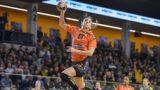 Siófok, 2019. március 10.A siófoki Camille Aoustin a női EHF Kupa negyeddöntőjében játszott Siófok KC-Storhamar HE visszavágó mérkőzésén Siófokon 2019. március 10-én.MTI/Bodnár Boglárka