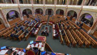 Budapest, 2019. április 1. Az Országgyûlés plenáris ülése 2019. április 1-jén. MTI/Szigetváry Zsolt