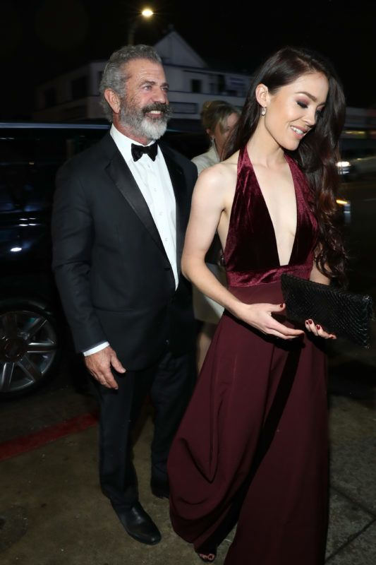 LOS ANGELES, CA - JANUARY 05:  Mel Gibson and Rosalind Ross attends Michael Muller's HEAVEN, presented by The Art of Elysium, on January 5, 2019 in Los Angeles, California.  (Photo by Rich Polk/Getty Images for The Art of Elysium)