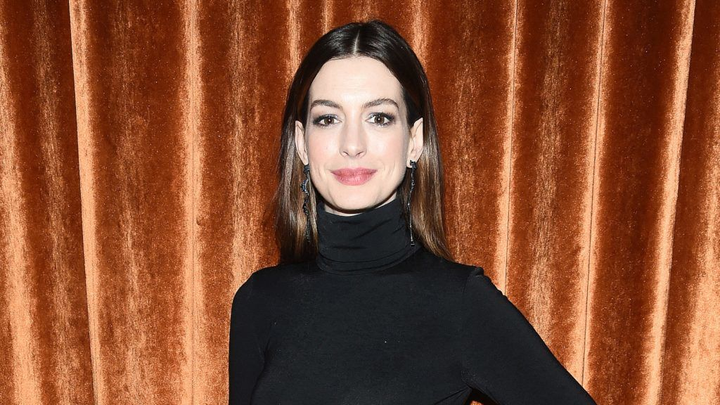 """NEW YORK, NEW YORK - JANUARY 23: Anne Hathaway attends the after party for """"Serenity"""" at The Magic Hour Rooftop Bar & Louge on January 23, 2019 in New York City. (Photo by Dimitrios Kambouris/WireImage)"""