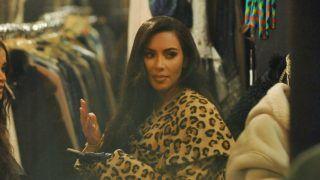 Kim Kardashian in Paris, France, on March 5, 2019. (Photo by Mehdi Taamallah/NurPhoto via Getty Images)