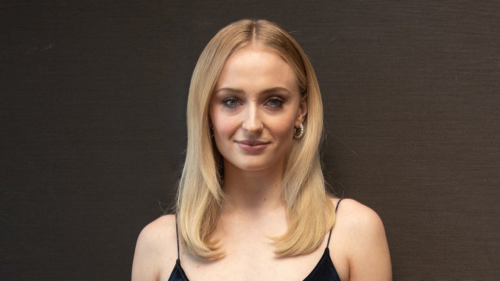 """NEW YORK, NEW YORK - APRIL 04: Sophie Turner at the """"Game Of Thrones"""" Press Conference at the Mandarin Oriental Hotel on April 04, 2019 in New York City. (Photo by Vera Anderson/WireImage)"""