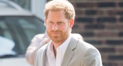 DAGENHAM, ENGLAND - APRIL 11: Prince Harry, Duke of Sussex attends the official opening of the Barking & Dagenham Future Youth Zone on April 11, 2019 in Dagenham, England.  The facility is created by the Charity OnSide Youth Zones and is the first of three facilities expected to open in 2019. (Photo by Samir Hussein/Samir Hussein/WireImage)