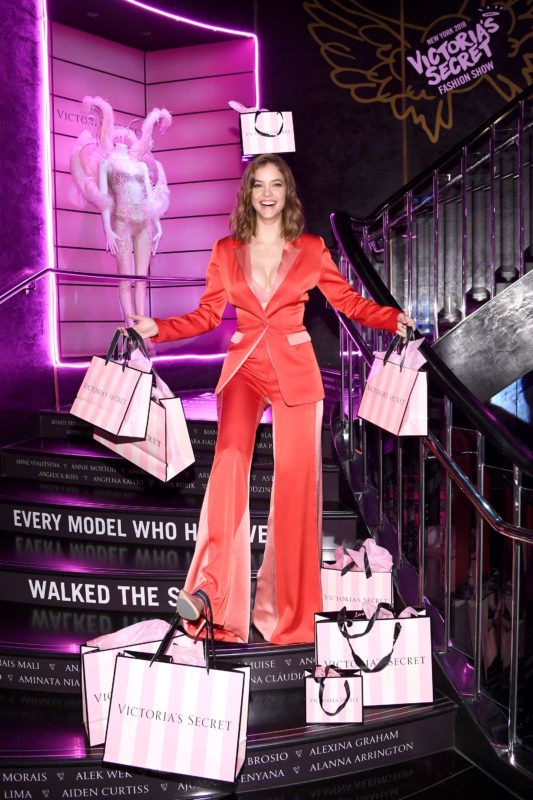 NEW YORK, NEW YORK - APRIL 16: Angel Barbara Palvin launches New Incredible By Victoria's Secret Collection on April 16, 2019 in New York City. (Photo by Dimitrios Kambouris/Getty Images for Victoria's Secret)