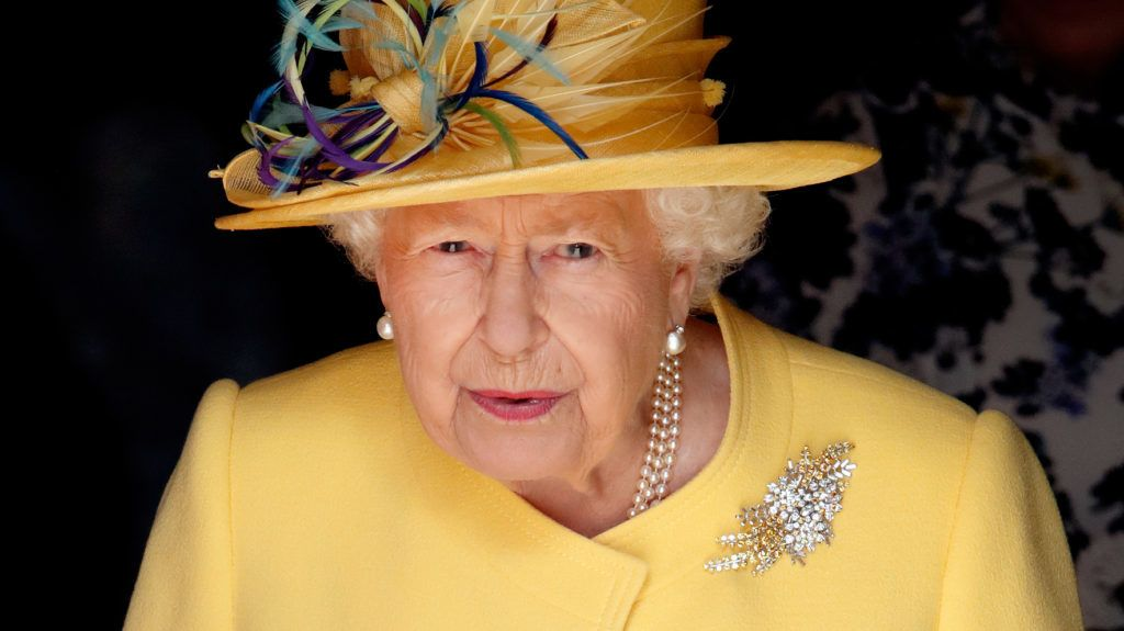 WINDSOR, UNITED KINGDOM - APRIL 18: (EMBARGOED FOR PUBLICATION IN UK NEWSPAPERS UNTIL 24 HOURS AFTER CREATE DATE AND TIME) Queen Elizabeth II attends the traditional Royal Maundy Service at St George's Chapel on April 18, 2019 in Windsor, England. During the service The Queen distributed Maundy money to 93 men and 93 women, one for each of her 93 years. (Photo by Max Mumby/Indigo/Getty Images)