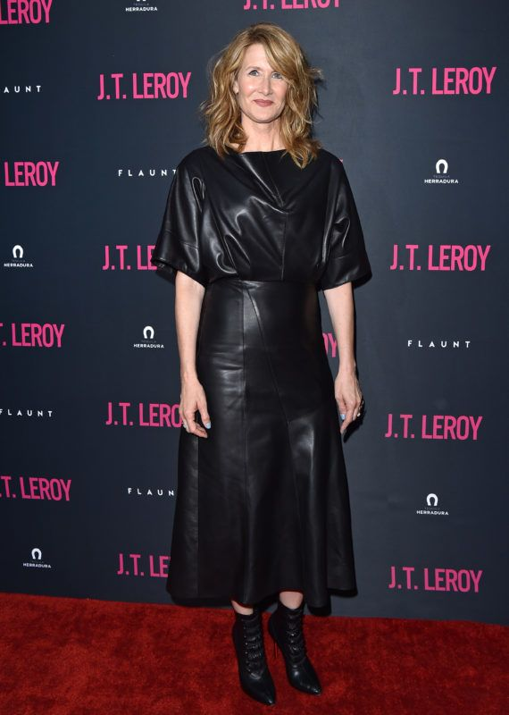 """HOLLYWOOD, CALIFORNIA - APRIL 24: Laura Dern attends the LA Premiere of Universal Pictures' """"J.T. Leroy"""" at ArcLight Hollywood on April 24, 2019 in Hollywood, California. (Photo by Axelle/Bauer-Griffin/FilmMagic)"""