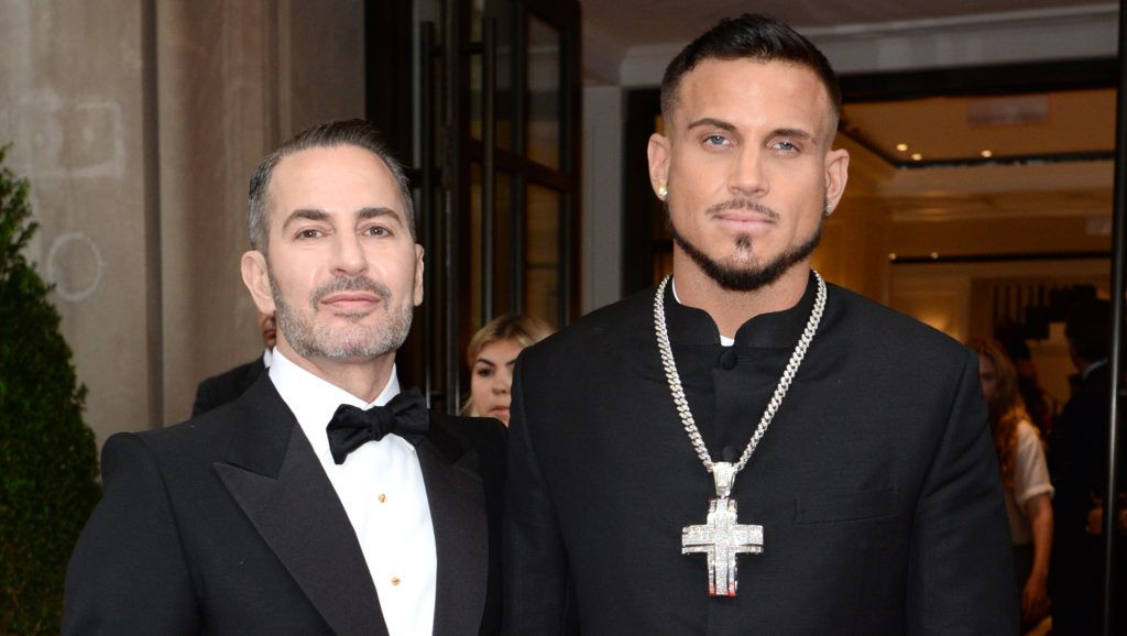 NEW YORK, NY - MAY 07:  Designer Marc Jacobs and Char Defrancesco attend as The Mark Hotel celebrates the 2018 Met Gala at The Mark Hotel on May 7, 2018 in New York City.  (Photo by Andrew Toth/Getty Images for The Mark Hotel)
