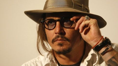 BELGRADE, SERBIA - JANUARY 14: Johnny Depp attends a press conference during the Kustendorf music & film festival, day 2 on January 14, 2010 in Belgrade, Serbia. (Photo by Srdjan Stevanovic/WireImage)