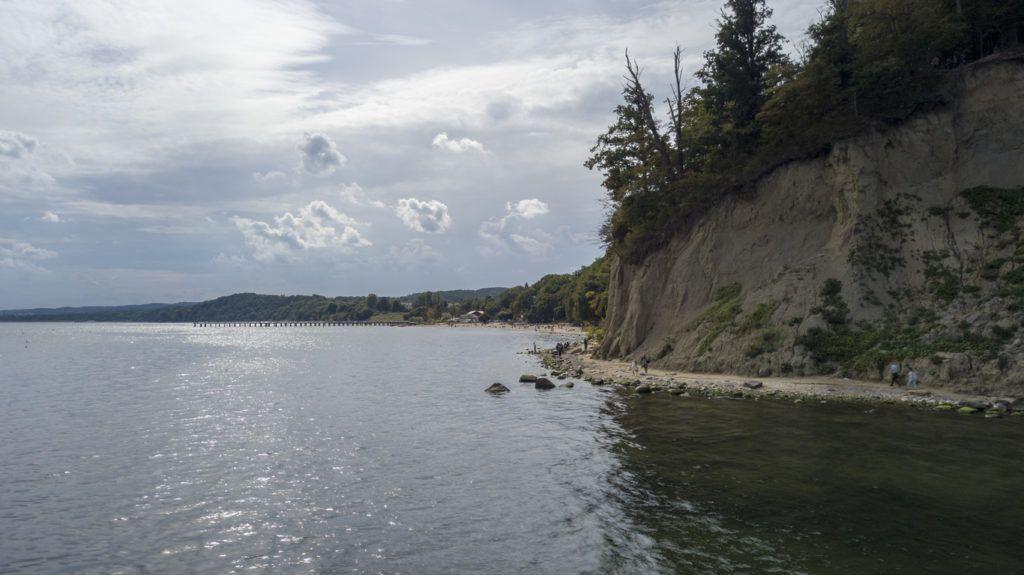 Cliff in Gdynia