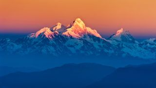 Himalayan Mountains View from Mt. Shivapuri, Shivapuri Nagarjun National Park