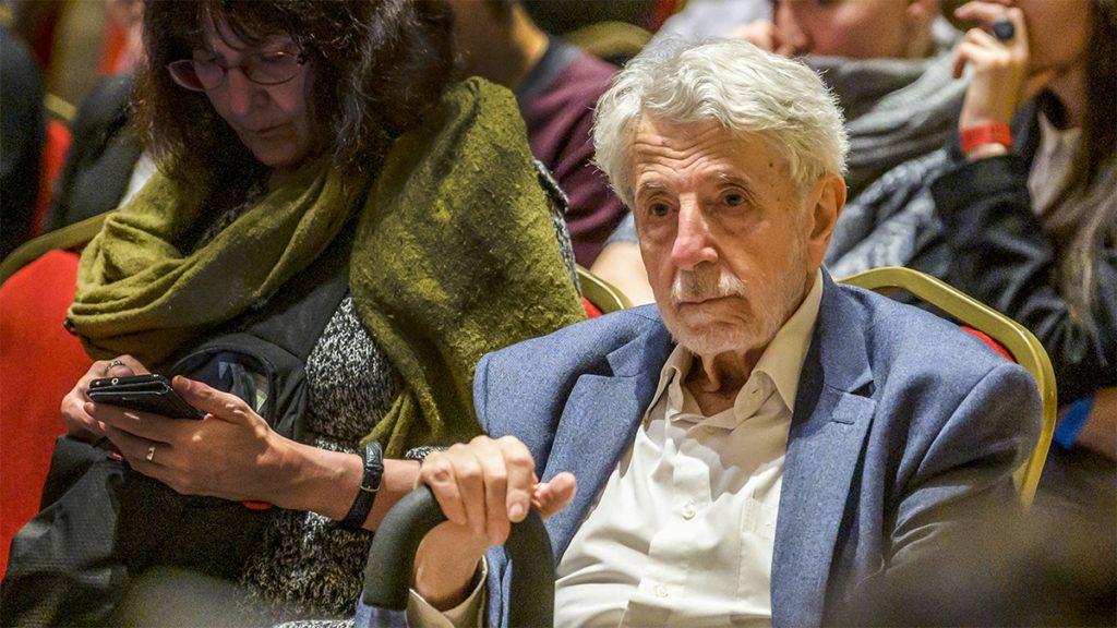Budapest, 2018. december 5.Kőszeg Ferenc irodalomtörténész, volt országgyűlési képviselő a Szépművészeti Múzeum Antik Gyűjteménye alapításának 110. évfordulóján tartott Antik ünnep programsorozaton 2018. december 5-én.MTI/Szigetváry Zsolt
