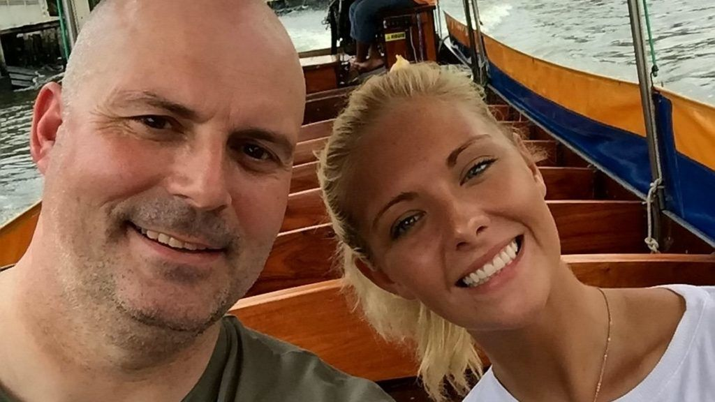 """Collect of James Geddes, 48, and his daughter Rebekah Fulton, 25. Mr. Geddes, of Barrhead, East Renfrewshire, is attempting to raise ¬£20,000 to fly his daughter home for medical treatment as he fears she may have meningitis as she languishes in a hospital in Phuket, Thailand. See SWNS story SWSCthailand. The dad of a Scot taken ill in Thailand said he fears she may have meningitis as he fundraises ¬£20,000 to bring his daughter home for medical treatment.Rebekah Fulton, 25, is currently battling a serious infection in a hospital in Phuket, and her dad, James Geddes, has described her as 'Äevery ill'Äô.The 48-year-old pleaded for support to raise enough money to fly Rebekah home as he fears she may have meningitis or """"something similar"""".However, it is not yet known by medics what is actually wrong with her. ***EXCLUSIVE***"""