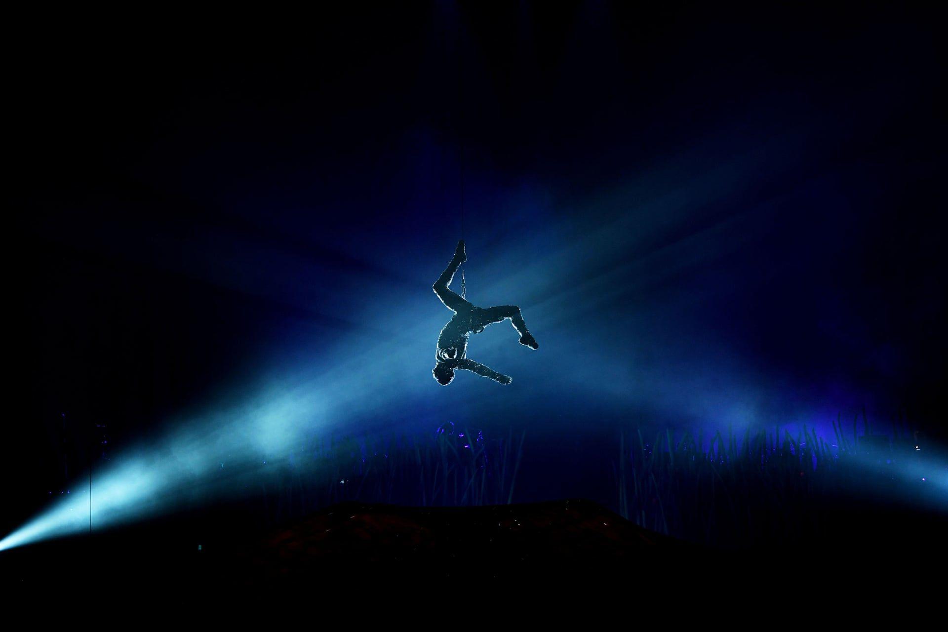 A Cirque du Soleil egyik tagja a Royal Albert Hall-ban. Fot—: James Veysey / Camera Press / thebppa