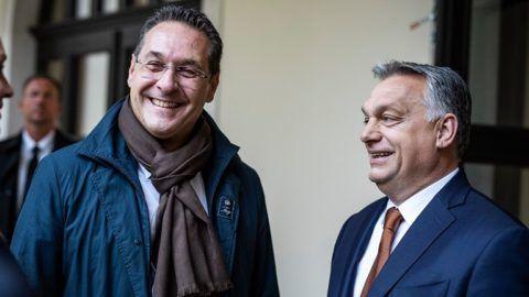 """Orbán: """"Osztrák barátaink most nem jöttek, mert ott soron kívüli vadászidényt hirdettek meg"""