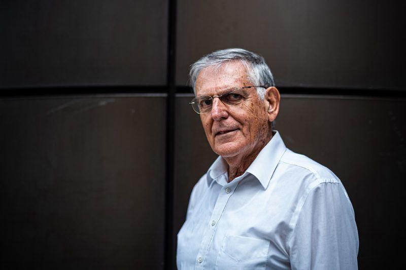 Image: 73896745, Dan Shechtman izraeli tudós, az Israel Institute of Technology anyagtudományi professzora, az amerikai Ames Laboratory kutatója, az Iowa State University vendégprofesszora. 1982-ben felfedezte az ikozaéder fázist, ami új területeket nyitott meg a kvázikristályok kutatása területén. 2011-ben a kémiai Nobel-díjjal tüntették ki a kvázikristályok felfedezéséért. 2019-ben Neumann-díjat kapott., Model Release: No or not aplicable, Property Release: Yes, Credit: smagpictures.com