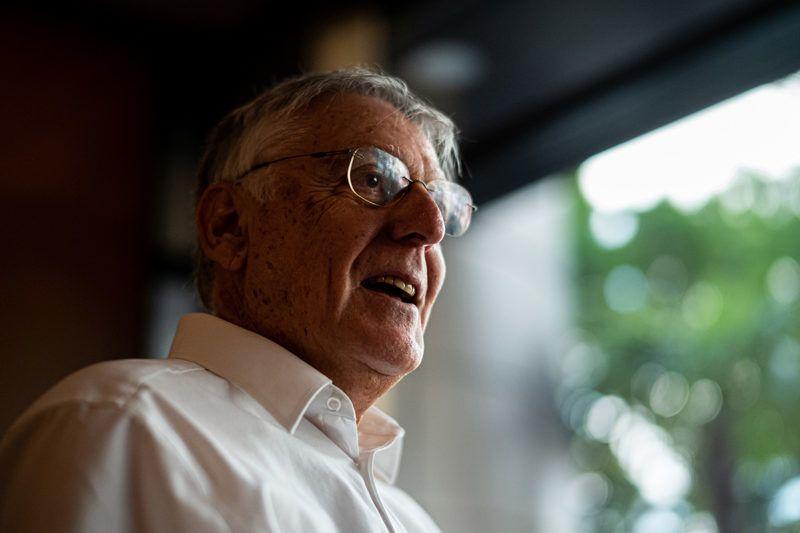Image: 73896761, Dan Shechtman izraeli tudós, az Israel Institute of Technology anyagtudományi professzora, az amerikai Ames Laboratory kutatója, az Iowa State University vendégprofesszora. 1982-ben felfedezte az ikozaéder fázist, ami új területeket nyitott meg a kvázikristályok kutatása területén. 2011-ben a kémiai Nobel-díjjal tüntették ki a kvázikristályok felfedezéséért. 2019-ben Neumann-díjat kapott., Model Release: No or not aplicable, Property Release: Yes, Credit: smagpictures.com
