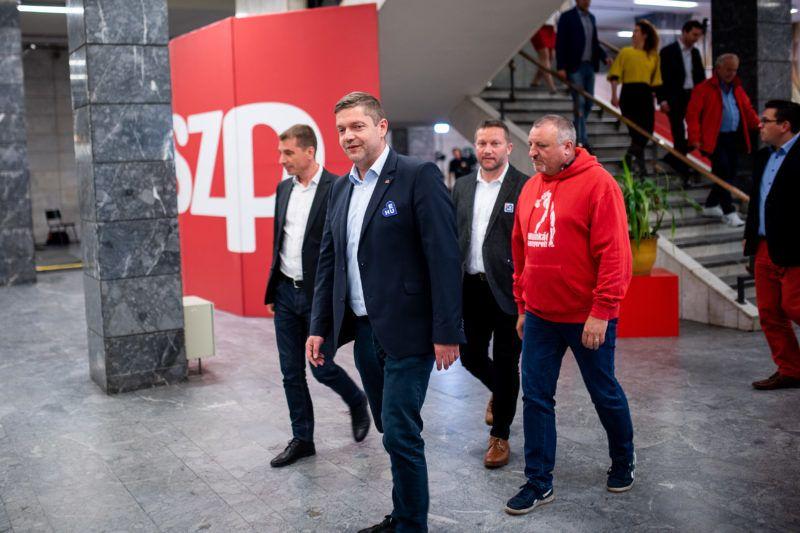 Image: 73897096, Az MSZP és a Párbeszéd EP-választási eredményvárója, Place: Budapest, Hungary, Model Release: No or not aplicable, Property Release: Yes, Credit: smagpictures.com