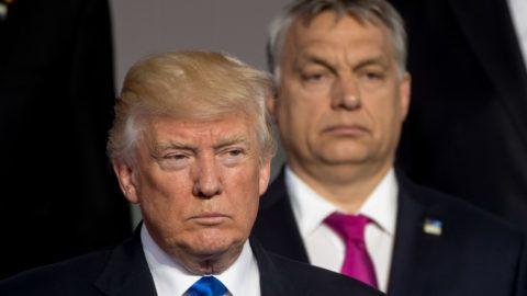 Szenátorok követelik Trumptól, hogy kérje számon Orbánon a demokrácia leépítését