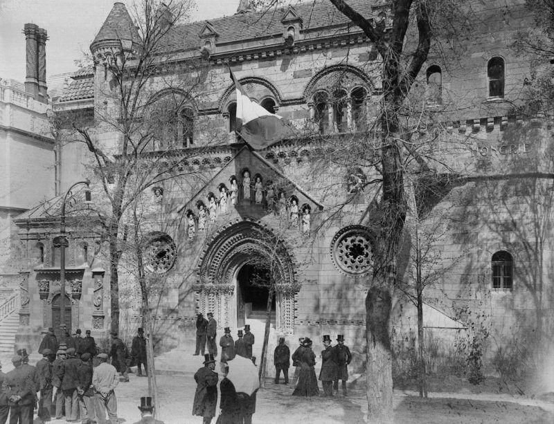 Exposition universelle de 1900, Paris. Le pavillon de Hongrie.     LL-89A