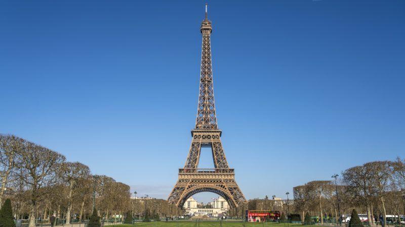 Eiffelturm in Paris, Frankreich  | Eiffel Tower, Paris, France | usage worldwide