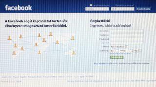 Budapest, 2010. február 19. A Facebook kezdõoldala látható egy monitoron. Mark Zuckerberg 2004-ben alapította a Facebook nevû közösségi oldalt, amelynek jelenleg több száz millió regisztrált felhasználója van. MTI Fotó: Mohai Balázs