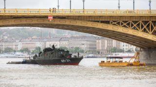 Dunai hajóbaleset - Az elsüllyedt turistahajót vizsgálják