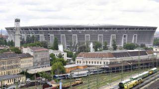 Budapest, 2019. május 24. Az épülõ Puskás Ferenc Stadion 2019. május 24-én. MTI/Máthé Zoltán