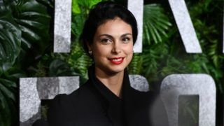 """NEW YORK, NEW YORK - MARCH 03: Morena Baccarin attends the """"Triple Frontier"""" World Premiere at Jazz at Lincoln Center on March 03, 2019 in New York City. (Photo by Noam Galai/Getty Images)"""