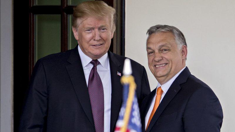 Áldás Trumpra vagy Orbánra?