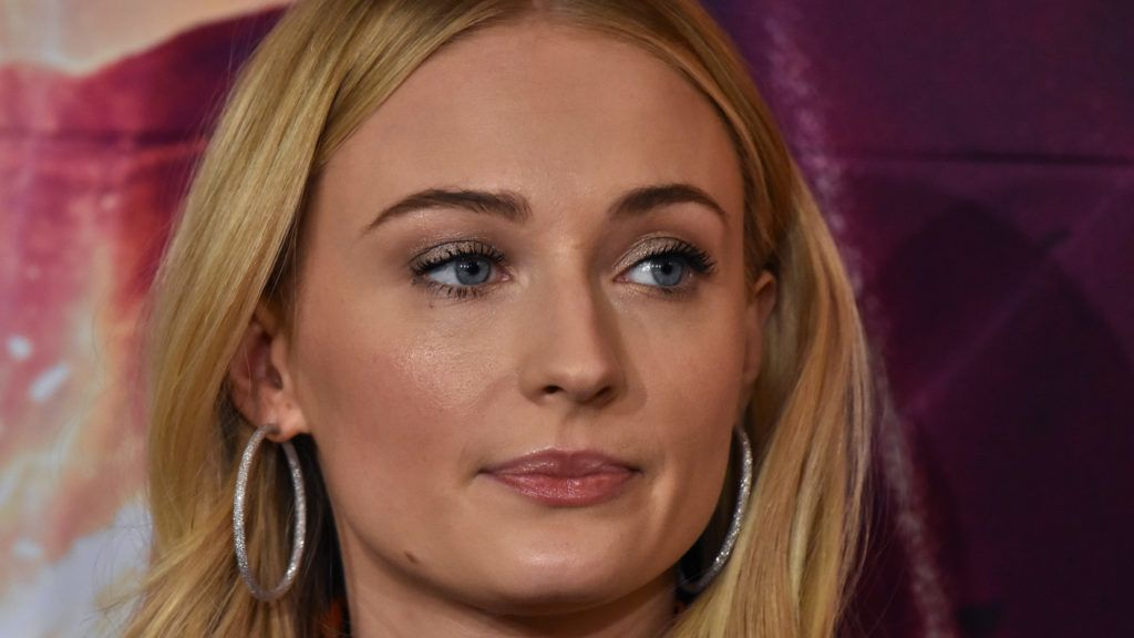 British actress Sophie Turner speaks during a press conference to promote X-Men: Dark Phoenix  at Four Season Hotel on May 15, 2019 in Mexico City, Mexico (Photo by Carlos Tischler/NurPhoto via Getty Images)