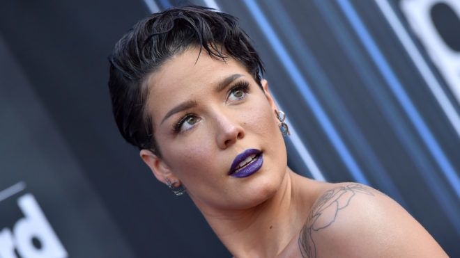 LAS VEGAS, NEVADA - MAY 01: Halsey attends the 2019 Billboard Music Awards at MGM Grand Garden Arena on May 01, 2019 in Las Vegas, Nevada. (Photo by Axelle/Bauer-Griffin/FilmMagic)