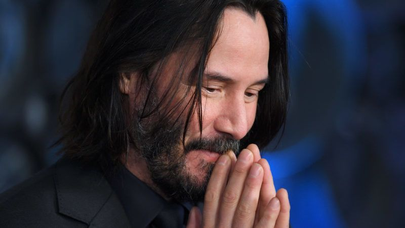 """LONDON, ENGLAND - MAY 03: Keanu Reeves attends the """"John Wick: Chapter 3"""" special screening at The Ham Yard Hotel on May 03, 2019 in London, England. (Photo by Karwai Tang/WireImage)"""