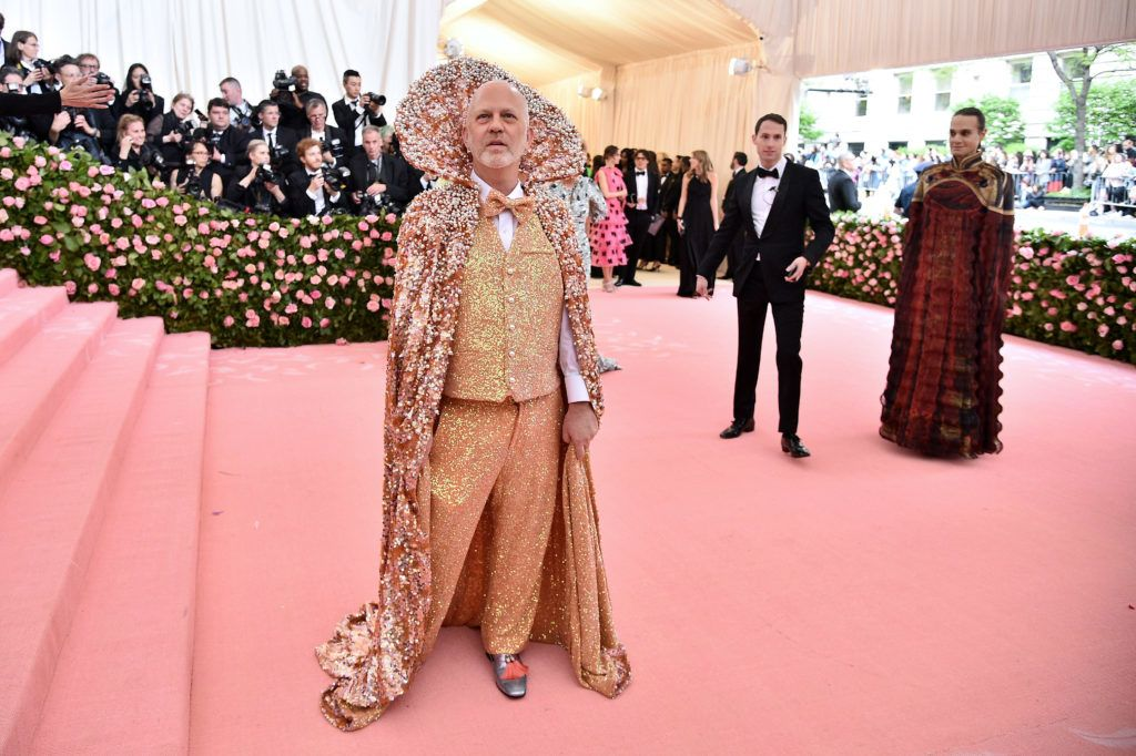 NEW YORK, NEW YORK - MAY 06: Ryan Murphy attends The 2019 Met Gala Celebrating Camp: Notes on Fashion at Metropolitan Museum of Art on May 06, 2019 in New York City. (Photo by Theo Wargo/WireImage)