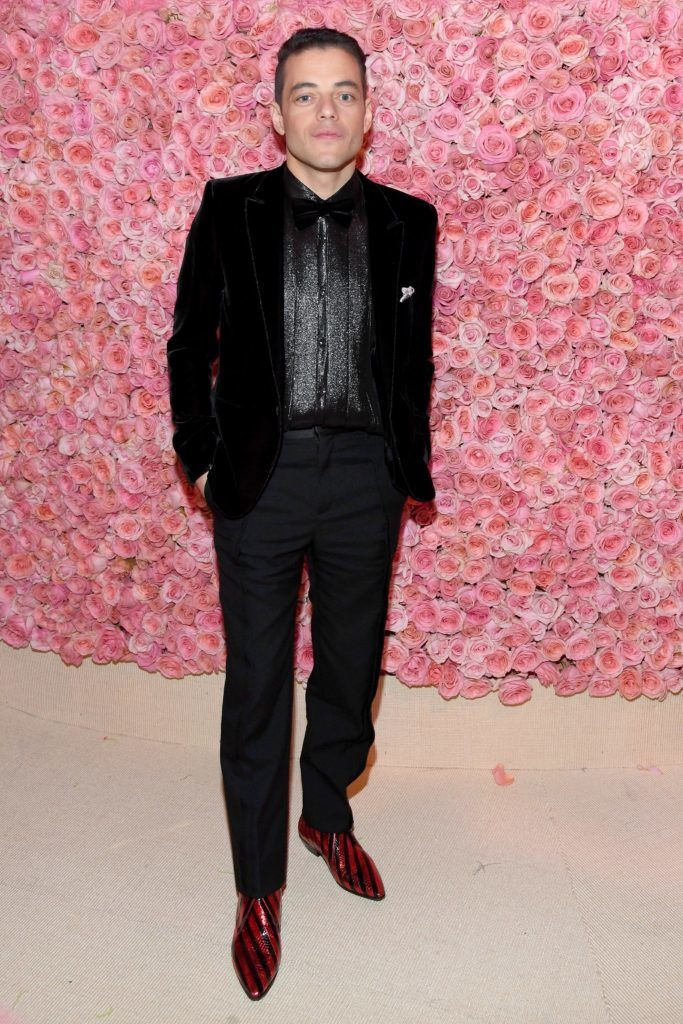 NEW YORK, NEW YORK - MAY 06: (EXCLUSIVE COVERAGE) Remi Malek attends The 2019 Met Gala Celebrating Camp: Notes on Fashion at Metropolitan Museum of Art on May 06, 2019 in New York City. (Photo by Kevin Mazur/MG19/Getty Images for The Met Museum/Vogue)
