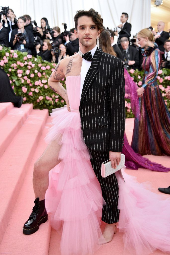 NEW YORK, NEW YORK - MAY 06: Michael Urie attends The 2019 Met Gala Celebrating Camp: Notes on Fashion at Metropolitan Museum of Art on May 06, 2019 in New York City. (Photo by Theo Wargo/WireImage)