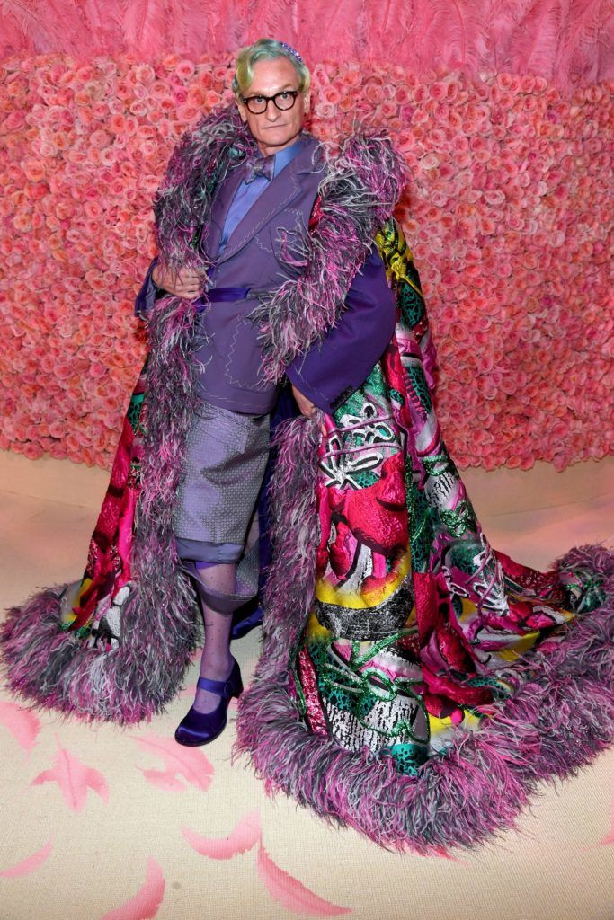 NEW YORK, NEW YORK - MAY 06: Hamish Bowles attends The 2019 Met Gala Celebrating Camp: Notes on Fashion at Metropolitan Museum of Art on May 06, 2019 in New York City. (Photo by Kevin Mazur/MG19/Getty Images for The Met Museum/Vogue)