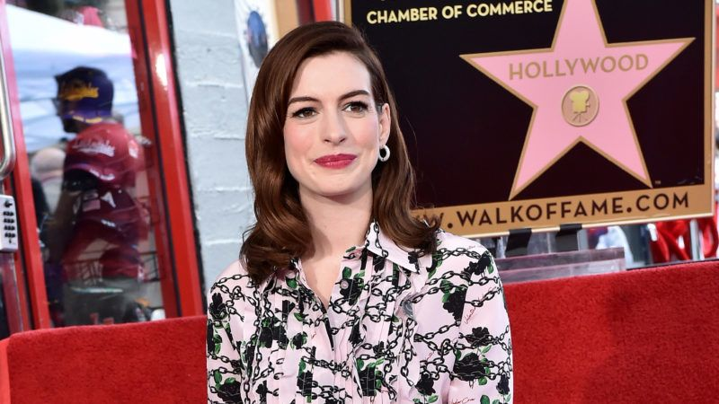 HOLLYWOOD, CALIFORNIA - MAY 09: Anne Hathaway is honored with star on the Hollywood Walk of Fame on May 09, 2019 in Hollywood, California. (Photo by Axelle/Bauer-Griffin/FilmMagic)