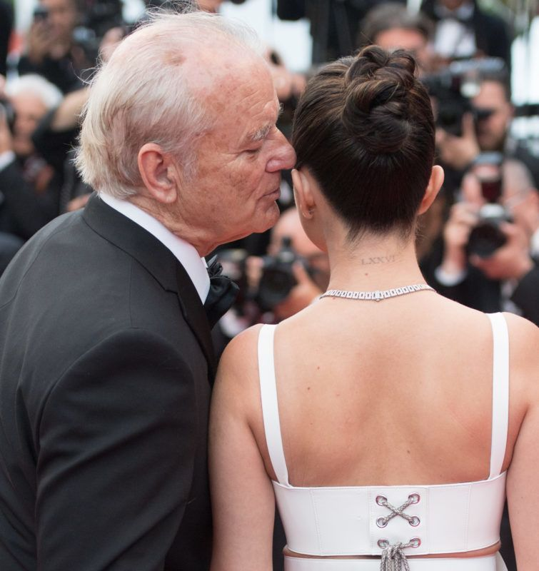 """CANNES, FRANCE - MAY 14: Bill Murray and Selena Gomez attend the opening ceremony and screening of """"The Dead Don't Die"""" during the 72nd annual Cannes Film Festival on May 14, 2019 in Cannes, France. (Photo by Samir Hussein/WireImage)"""