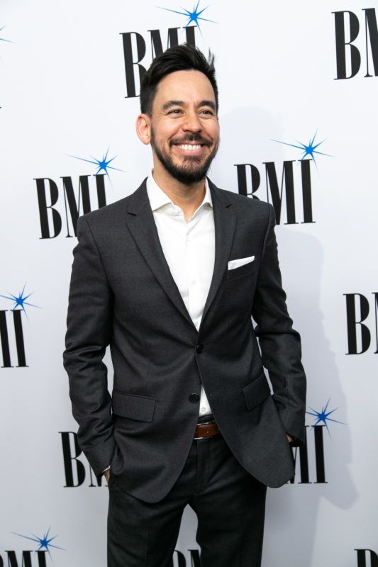 BEVERLY HILLS, CALIFORNIA - MAY 15: Mike Shinoda attends the 35th Annual BMI Film, TV & Visual Media Awards at Regent Beverly Wilshire Hotel on May 15, 2019 in Beverly Hills, California. (Photo by John Wolfsohn/Getty Images)