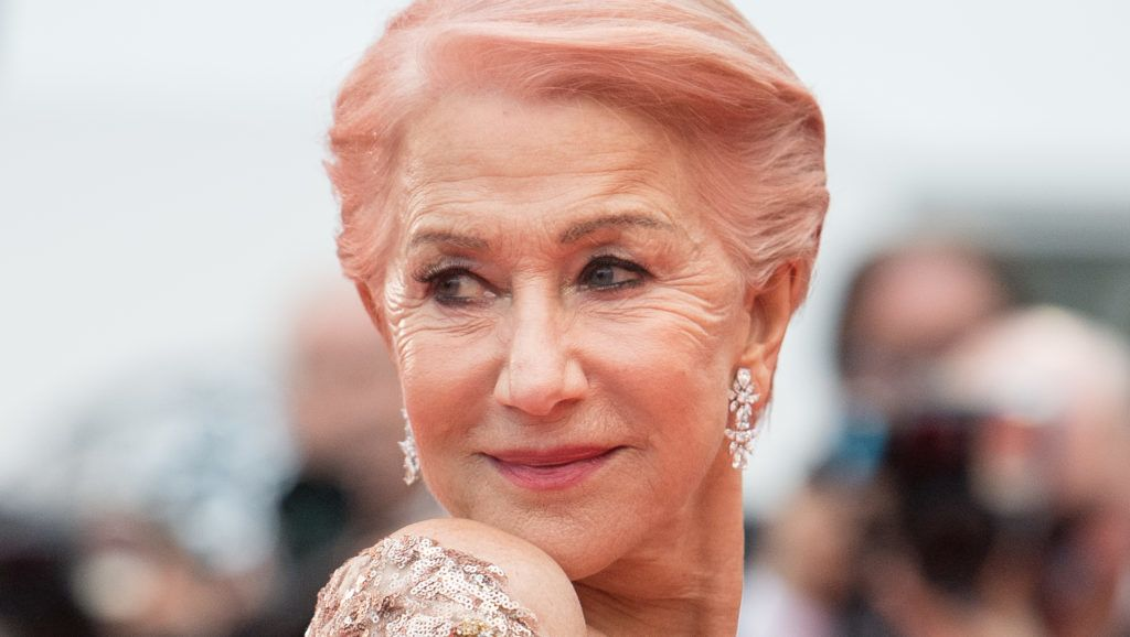 """CANNES, FRANCE - MAY 18: Dame Helen Mirren attends the screening of """"Les Plus Belles Annees D'Une Vie"""" during the 72nd annual Cannes Film Festival on May 18, 2019 in Cannes, France. (Photo by Samir Hussein/WireImage)"""
