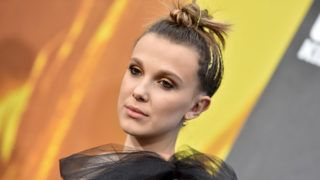 """HOLLYWOOD, CALIFORNIA - MAY 18: Millie Bobby Brown attends the premiere of Warner Bros. Pictures and Legendary Pictures' """"Godzilla: King of the Monsters"""" at TCL Chinese Theatre on May 18, 2019 in Hollywood, California. (Photo by Axelle/Bauer-Griffin/FilmMagic)"""