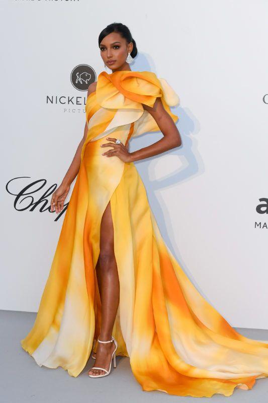 CAP D'ANTIBES, FRANCE - MAY 23: Jasmine Tookes attends the amfAR Cannes Gala 2019>> at Hotel du Cap-Eden-Roc on May 23, 2019 in Cap d'Antibes, France. (Photo by Stephane Cardinale - Corbis/Corbis via Getty Images)