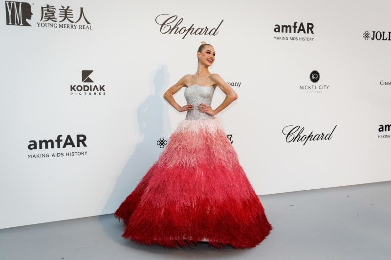 CAP D'ANTIBES, FRANCE - MAY 23: Meredith Mickelson attends the amfAR Cannes Gala 2019 at the Hotel du Cap-Eden-Roc on May 23, 2019 in Cap d'Antibes, France. (Photo by David M. Benett/Dave Benett/Getty Images)