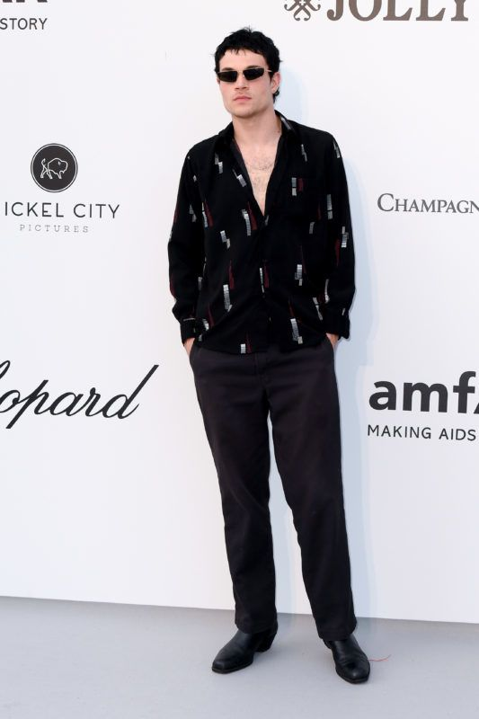 CAP D'ANTIBES, FRANCE - MAY 23: Luka Isaac attends the amfAR Cannes Gala 2019 at Hotel du Cap-Eden-Roc on May 23, 2019 in Cap d'Antibes, France. (Photo by Stephane Cardinale - Corbis/Corbis via Getty Images)