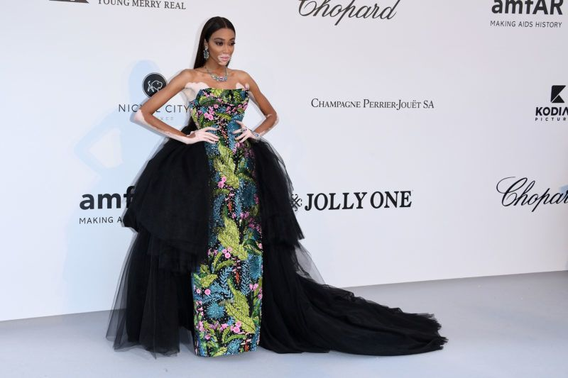 CAP D'ANTIBES, FRANCE - MAY 23: Winnie Harlow attends the amfAR Cannes Gala 2019 at Hotel du Cap-Eden-Roc on May 23, 2019 in Cap d'Antibes, France. (Photo by Daniele Venturelli/Getty Images for amfAR)