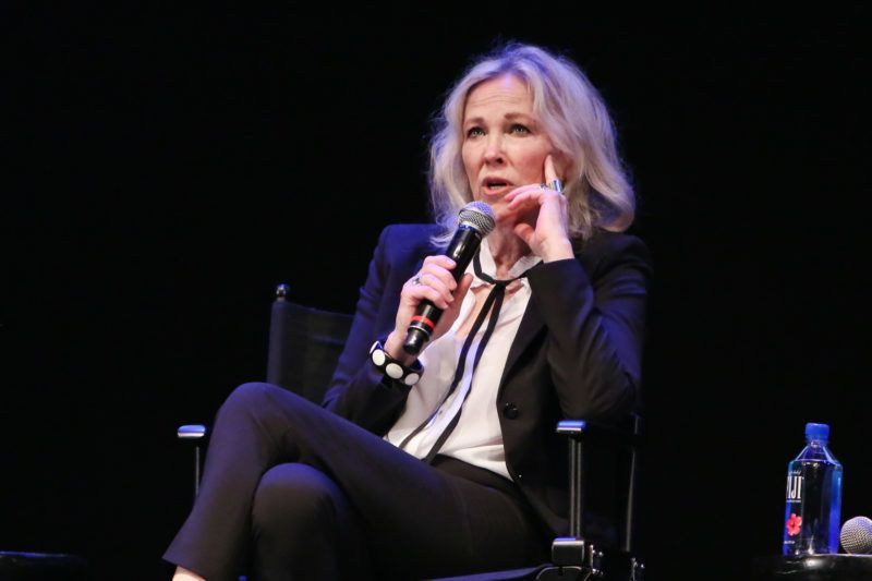 """LOS ANGELES, CALIFORNIA - MAY 25: Actress Catherine O'Hara attends the """"Schitt's Creek"""" - Up Close & Personal event at The Wiltern on May 25, 2019 in Los Angeles, California. (Photo by Paul Archuleta/Getty Images)"""